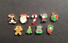 Christmas Floating Charms for Origami Owl by LoveLivingLockets, $3.99