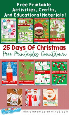 Countdown To 25 Days Of Christmas 2019.47 Best Christmas Countdown Ideas For Kids Images In 2019