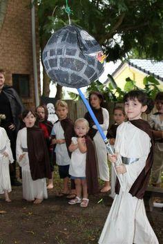 "Photo 57 of 82: Star Wars Lego / Birthday ""Jedi Nate's Star Wars adventure""   Catch My Party"