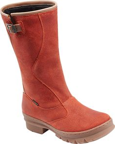 KEEN Footwear - Women's Willamette Boot in Burnt Orange. Have these now. Best camping boot ever!