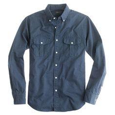 Dot Workwear Shirt | Wallace & Barnes