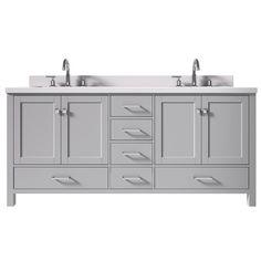 Double Sink Bathroom, Bathroom Vanity Tops, Vanity Sink, Bath Vanities, Modern Bathroom, Sinks, Bathroom Ideas, Bath Ideas, Bathroom Remodeling