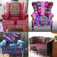 ☮ American Hippie Bohéme Boho Lifestyle ☮ Chairs #FunkyChairs
