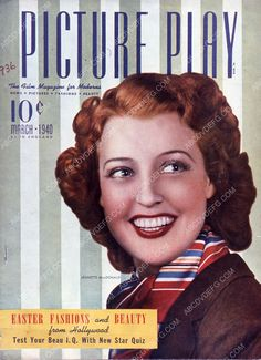 Jeanette MacDonald Picture Play magazine cover 35m-7755