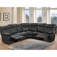 Barrymore Furniture Stressless E200 Sectional