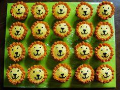lion cupcakes!!! so cute