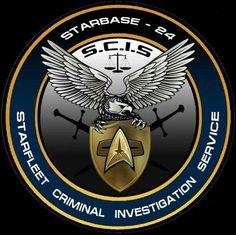 Starfleet Criminal Investigation Service - I see a new CBS show. Star Trek Emblem, Star Trek Logo, Star Wars, Star Trek Cast, Star Trek Series, Science Fiction, Star Trek Tattoo, Star Trek Bridge, Star Trek Uniforms