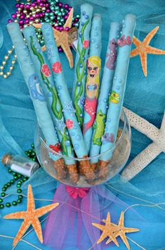 Under the Sea/ Mermaid Party Birthday Party Ideas | Photo 3 of 64 | Catch My Party