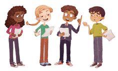Oxford University Press Illustrations on Behance