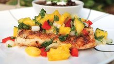 One of our favorite grilling recipes is my Blackened Mahi Mahi with fresh Pineapple Salsa. This is one of the best recipes for entertaining al fresco.