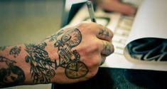 Green #bike #tattoo
