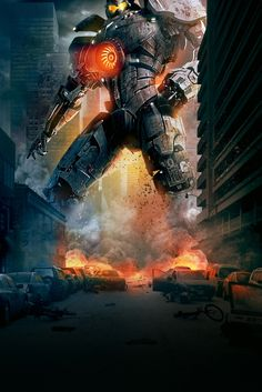 Gypsy Danger from Pacific Rim