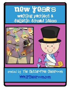 New Year's Resolutions: A (K-5) Writing Project Resource Kit. This kit was created to be used by teachers in grades K-5. The materials were designed to make modifications easy within your classroom.    I recently completed this activity with my third graders in school as well as my first grade son at home. The differentiated pages and templates that are included made it a perfect activity for both.