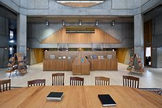 Phillips Exeter Academy Library, Exeter, U.S - Louis Kahn
