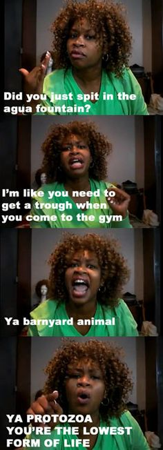 You tell him Glozell! Mmmmhum