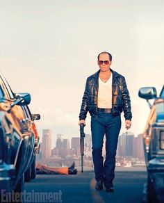 """""""He could be charming. He could be ruthless. He was like a cobra—you never knew where he could strike,"""" says director Scott Cooper (Crazy Heart) of notorious crime boss Whitey Bulger, played by Johnny Depp in Black Mass (out Sept. 18)."""