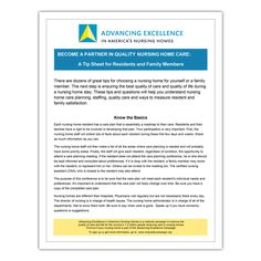 Advancing Excellence: TipSheet for Residents and Families - Qsource Happy Quotes, Funny Quotes, Life Quotes, Life Gets Better, Friendship Love, Life Video, Life Words, Inspirational Videos, Inspiring Quotes About Life