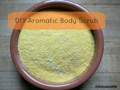 Aromatic body scrub: use three times a week you may notice a reduction in cellulite after a couple of months. Diy Body Scrub, Diy Scrub, Homemade Beauty, Diy Beauty, Best Natural Skin Care, Natural Beauty, Smooth Legs, Oil Mix, Face And Body