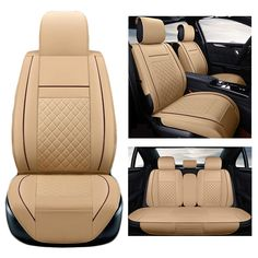 PU leather Universal car seat covers set For Maserati Ghibli 2016-2014 Levante GT car accessories car styling #Affiliate
