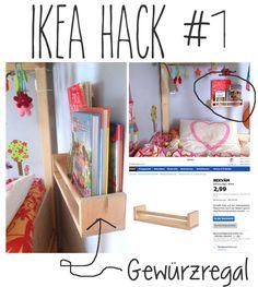 DiY Bücherregal ein IKEA Hack