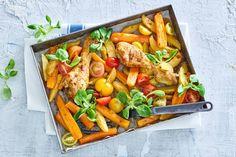 Kijk wat een lekker recept ik heb gevonden op Allerhande! Piri-piri drumsticks met wortel en aardappel