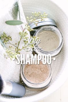 An easy DIY dry shampoo that's made with only 2-3 ingredients. I can't believe how easy this recipe is to make and how well it works!