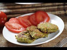 Tortitas de lenteja - Lentil patties - Recetas de cocina saludable - Veg...