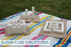 25 Building and engineering activities for kids All kids are creative and love to play! Eyfs Activities, Activities For Kids, Crafts For Kids, Learning Activities, Castles Ks1, Castles Topic, Tuff Spot, Dragons, Activity Bags