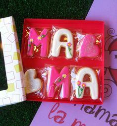 Caja de galletas del Día de la Madre, de La Galletería de Tastery #diadelamadre