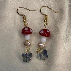 Funky Jewelry, Ear Jewelry, Hippie Jewelry, Cute Jewelry, Jewelry Accessories, Handmade Jewelry, Jewelry Making, Accessoires Hippie, Nagel Tattoo