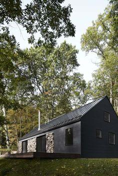 Minimalistyczny dom Hudson Valley