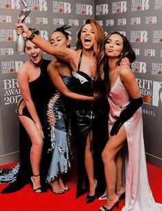 Little Mix finally won a BRIT!