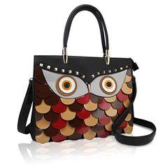 DARLING'S Owl Fashion Design Handbag Shoulder Bag