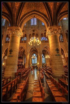 Notre Dame Catedral ~ Paris, France and to think how they did it back then! Paris Travel, France Travel, Oh The Places You'll Go, Places To Travel, Paris France, Ile Saint Louis, Ville France, Belle Villa, Cathedral Church