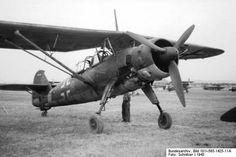 Henschel Hs 126 -- German Luftwaffe reconnaissance and observation aircraft