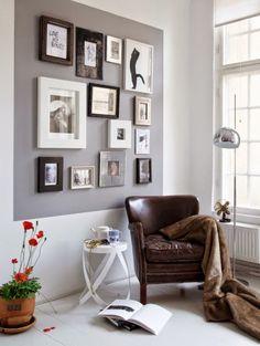 Sempre que eu vou decorar alguma coisa fico obcecada pela decoração das paredes kkkk   Sim, porque acho que é neste espaço vertical que ...
