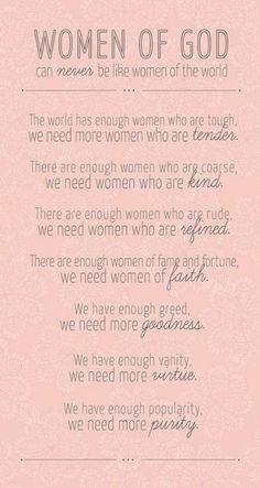 Women of God ❤