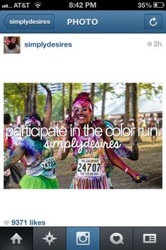 Doing... Color Run
