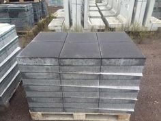 MultiTec Pflaster 40x40x8 cm anthrazit (2.Wahl) 11.9€ 2.Wahl Grund: Steine haben Ausblühungen oder kleine Macken