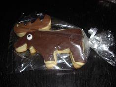 Justin: moose cookie