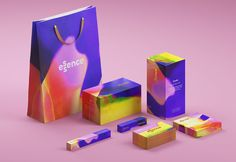 The Bold Studio / Essence #graphic #design #brand #identity #cosmetics