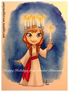 Happy Holidays from Pocket Princesses