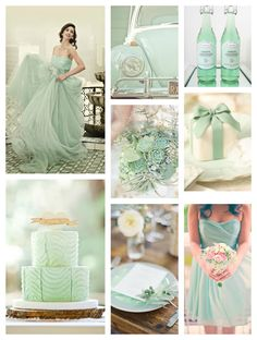 Rustic Chic Mint Wedding Ideas ahh mint!!! cant wait for my wedding!