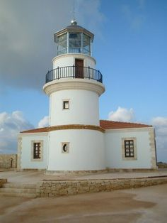 The southest lighthouse of Europe, in Gavdos Island, Greece