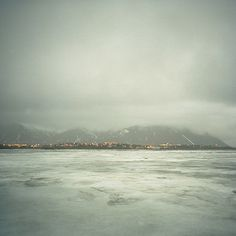 Icelandic winter landscape