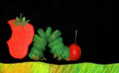 """""""The Very Hungry Caterpillar"""" comes to The Rose, Sept. 5-21, 2014.  Featuring evocative music, innovative puppetry, and stunning black light visual effects, """"The Very Hungry Caterpillar comes to life on The Rose stage courtesy of the renowned Mermaid Theatre of Nova Scotia! """"The Very Hungry Caterpillar"""" follows the adventures of a very tiny and very hungry caterpillar who eats his way through an amazing variety of foods towards his eventual metamorphosis into a beautiful butterfly."""