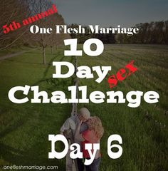Brad and Kate say . Day 1 of the 10 Day Sex Challenge. This challenge is about more than increasing the sexual intimacy in your marriage for the next 10 days. During the next 10 da… Love Your Wife, Good Wife, 10 Day Challenge, Marriage Day, Light My Fire, Christian Marriage, Christian Encouragement, Your Man, Names Of Jesus