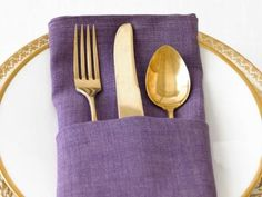 Learn how to fold the perfect French napkin with Food Network Magazine's step-by-step guide.