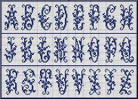 Free Easy Cross, Pattern Maker, PCStitch Charts + Free Historic Old Pattern Books: Sajou No 51