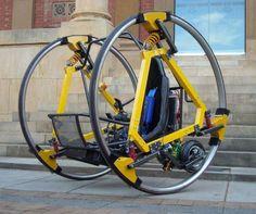 EDWARD Electric Diwheel Vehicle